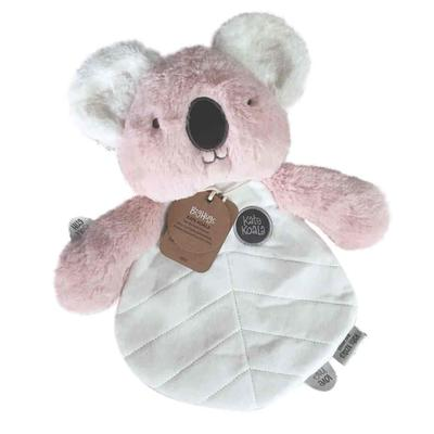 Ob Designs Kate Koala Comforter (Pink) -obdesigns-kate-koala-stuffed-toy-plush-toy-baby-girl-toy-baby-boy - Prairie Lane Boutique for Kids