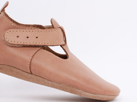 BOBUX Soft Sole Caramel Jack and Jill