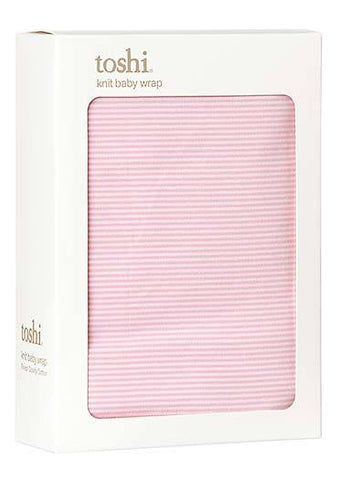 Toshi Wrap Knit Sleepytime Blush, Dove and Periwinkle - Prairie Lane Boutique for Kids