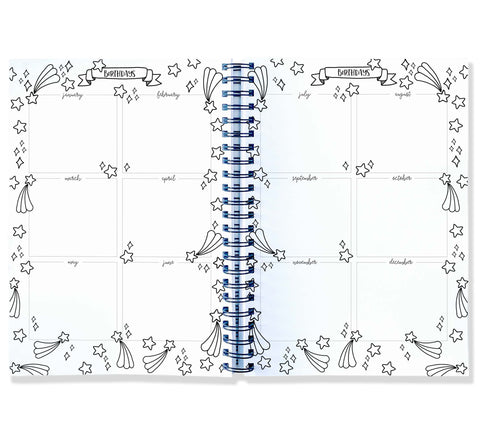 My Busy Class A4 Teacher Planner Blueberry Co