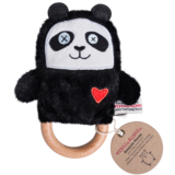 O.B Designs SALE DingaRings Plush Teething Rattle - Amanda Panda