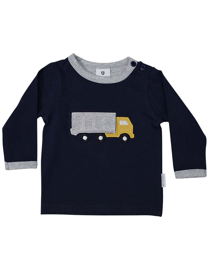 Korango Truck Yeah Long Sleeve Top - Prairie Lane Boutique for Kids