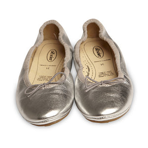 Old Soles Cruise Ballet Flats - Silver - Prairie Lane Boutique for Kids