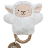 OB Designs  Leesa Lamb Dingaring Teether - Prairie Lane Boutique for Kids