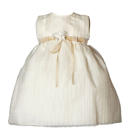 Heritage Girls Jasmine Christening/Flower Girl Dress - Antique White