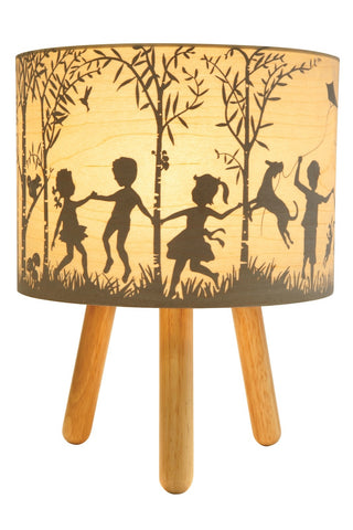 Micky & Stevie In the Woods Timber table Lamp
