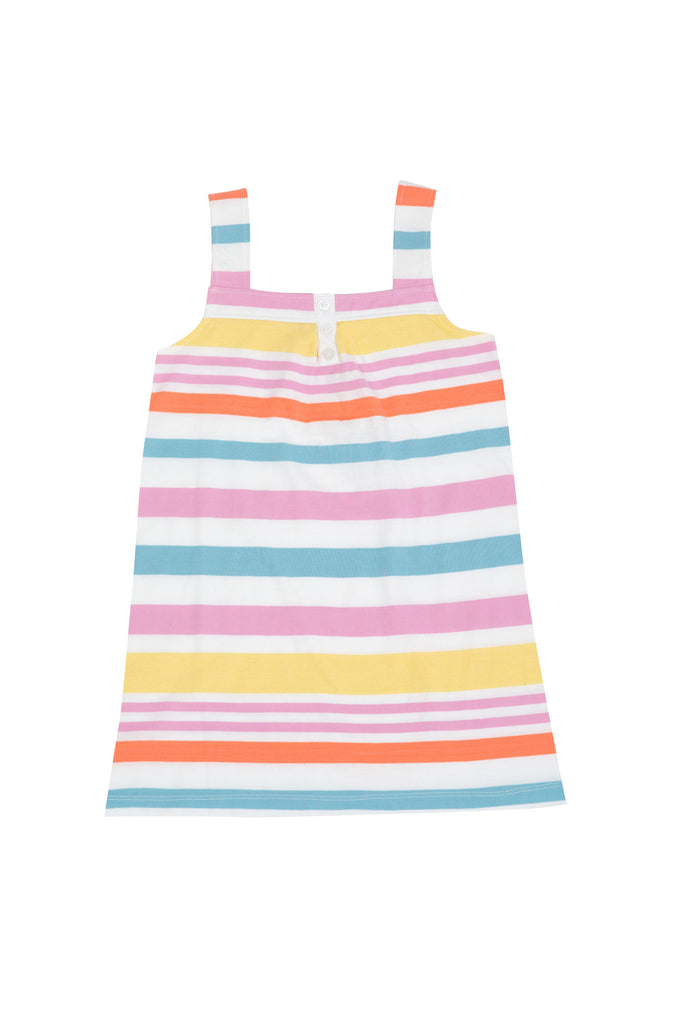 Four in the Bed Sleepwear SALE Jess Sunshine Stripe Nightie - Prairie Lane Boutique for Kids