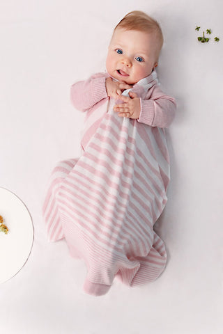 Jujo Baby Shwrap - Classic Stripe - Pink - Prairie Lane Boutique for Kids