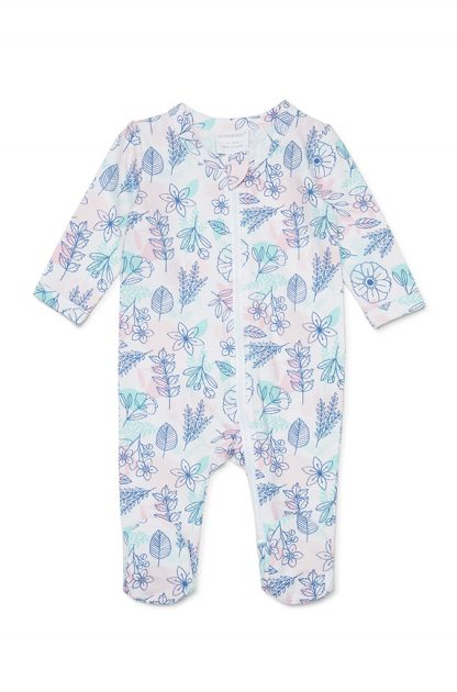 Marquise Zipsuit Floral - Prairie Lane Boutique for Kids