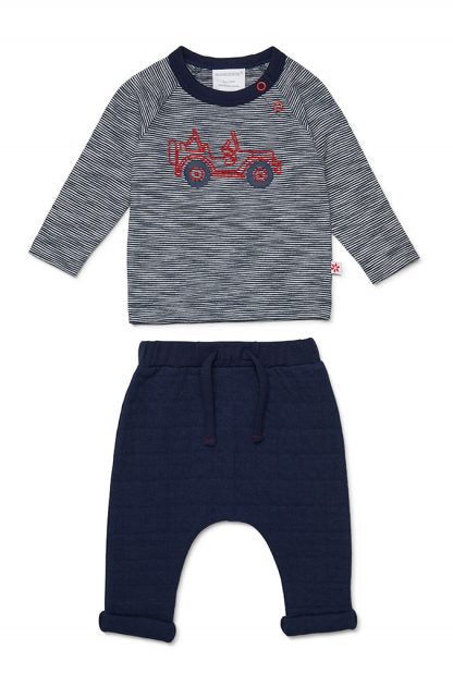 Marquise OFF ROAD LONG SLEEVE TOP AND JACQUARD PANTS - Prairie Lane Boutique for Kids