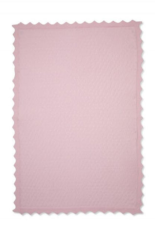 Marquise Cotton Blanket Pink - Prairie Lane Boutique for Kids
