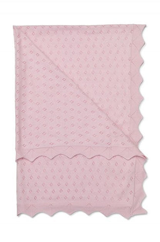 Marquise Cotton Blanket Pink