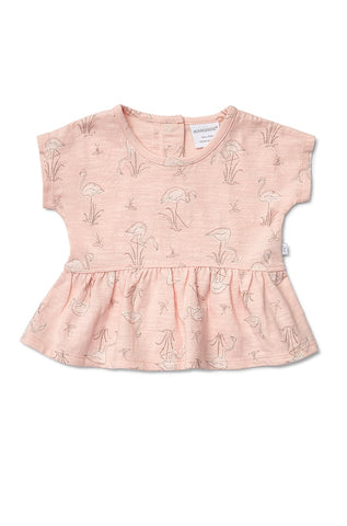 Marquise Flamingo Swing Top and Matching Bloomer