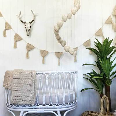 OB Designs Natural Heart Mobile - Prairie Lane Boutique for Kids