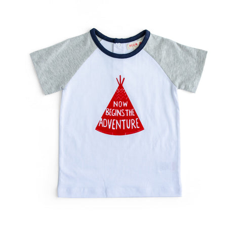 Plum Baby Boy T Pee T-Shirt ON SALE