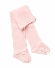Marquise Tights Knitted Cotton - Pink - Prairie Lane Boutique for Kids