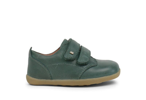 Bobux Step Up Port Shoe - Forest Green