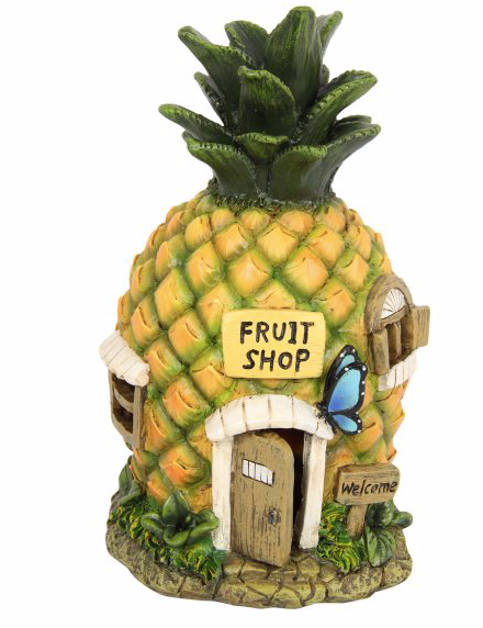 Magical Pineapple Fairy/elf House - Prairie Lane Boutique for Kids
