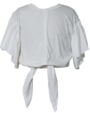 Mii Love Mu Cotton Jersey T- Shirt Off White - Prairie Lane Boutique for Kids