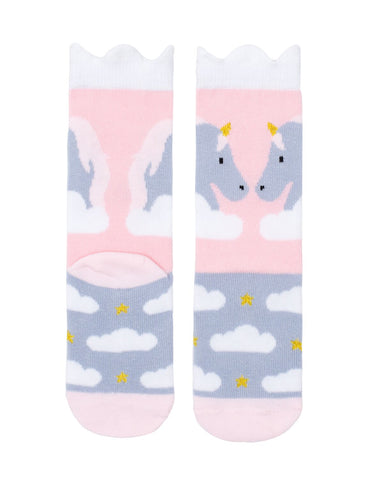 Billy Loves Audrey Midi Socks - Unicorn ON SALE - Prairie Lane Boutique for Kids