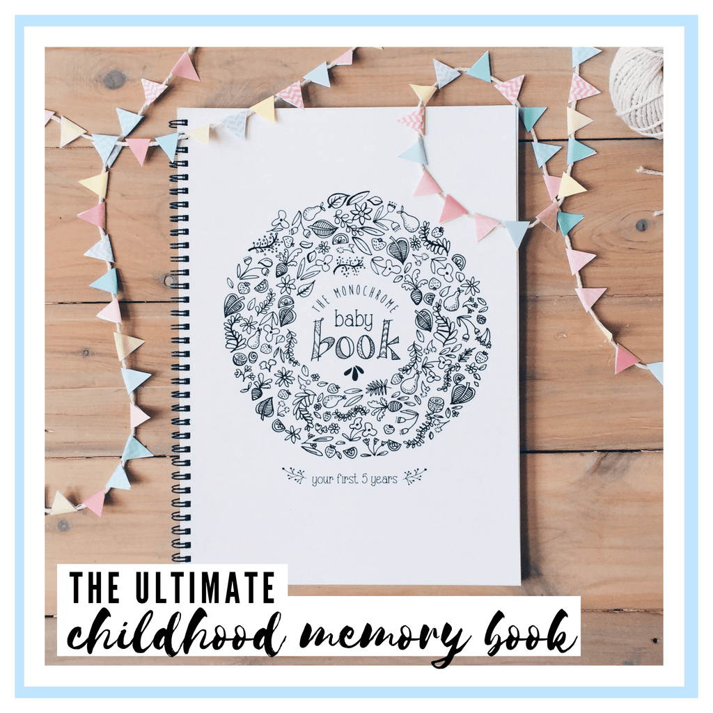 The Monochrome Baby Book Blueberry Co