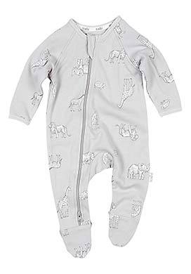 Toshi Long Sleeve Onesie Zoology