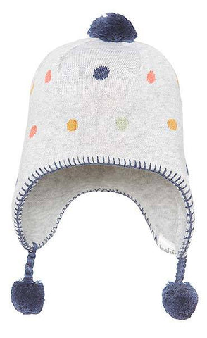 Toshi Organic Beanie Earmuff Story in Dinosaur and Bobo - Prairie Lane Boutique for Kids