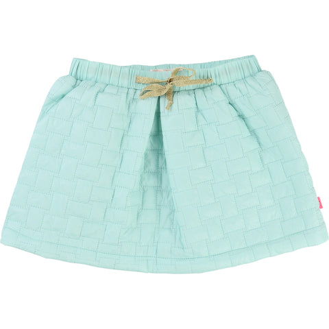 Billieblush Girls Quilted Skirt Sea Green - Prairie Lane Boutique for Kids