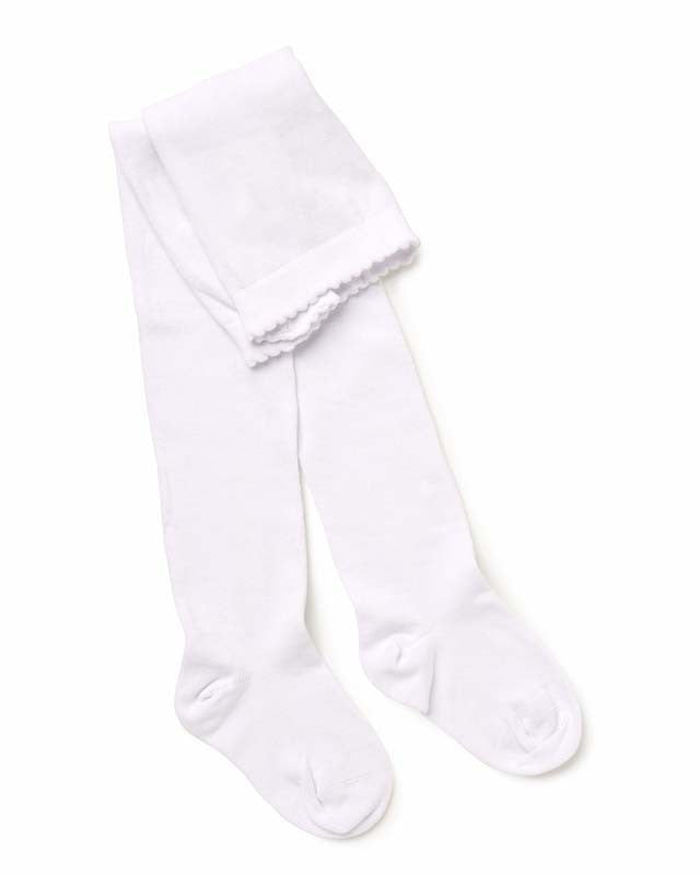 Marquise Tights Knitted Cotton - Off White - Prairie Lane Boutique for Kids