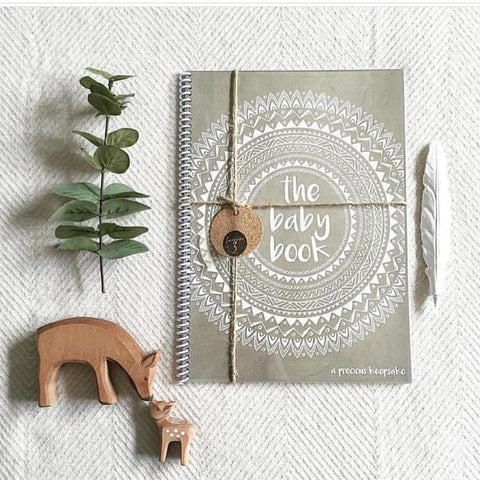 The Baby Book - Natural - Prairie Lane Boutique for Kids