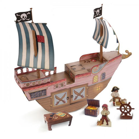 Belle & Boo Pirate Ship Kit - Prairie Lane Boutique for Kids