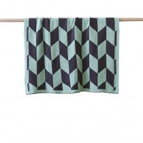 Billie Baby Blanket - Green - Prairie Lane Boutique for Kids