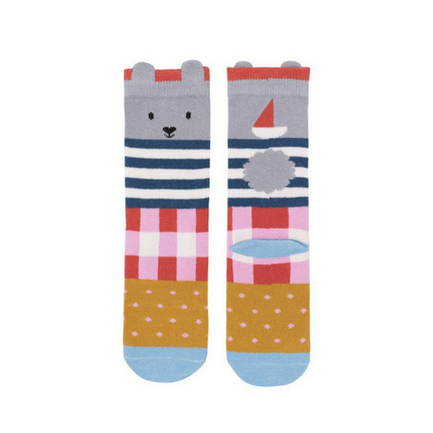 Billy Loves Audrey Midi Socks - Seaside Bunny ON SALE - Prairie Lane Boutique for Kids