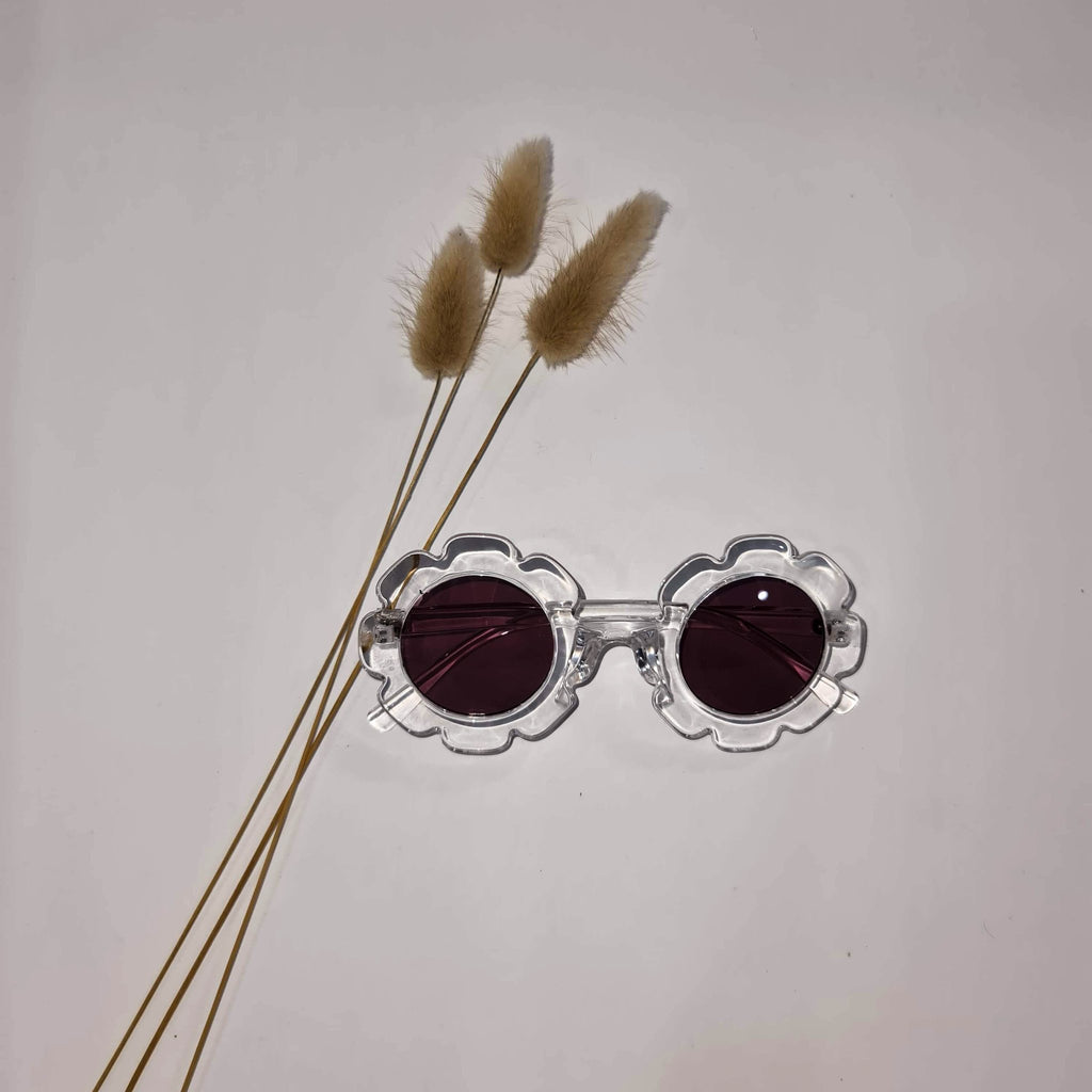 Vintage Daisy Sunglasses Clear