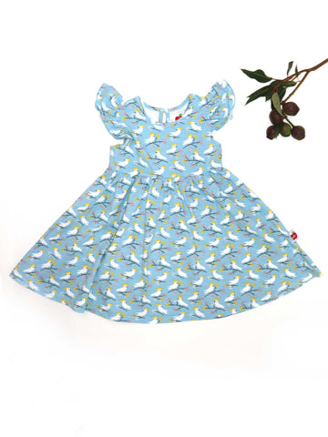 Oobi Dakota Cockatoo Jersey Dress