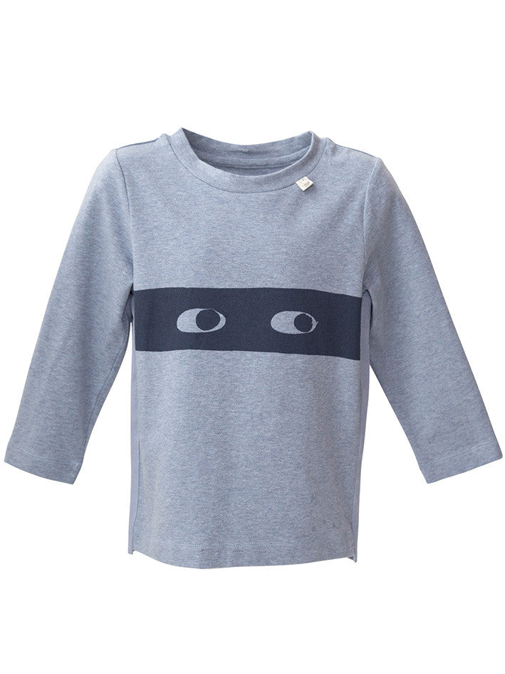 Eeni Meeni SALE AW17 Long Sleeve T-Shirt - Signature (Seabourne Marle) - Prairie Lane Boutique for Kids