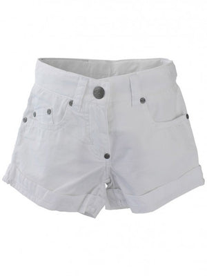 E3M (eeni meeni) SALE Girl Classic Short - Pure White - Prairie Lane Boutique for Kids