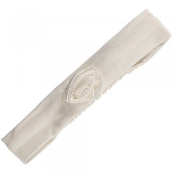 Emile et Rose SALE Girls Derora Stretch Jersey Headband - Ivory