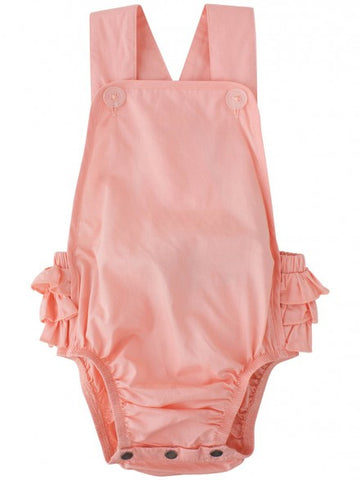 Eeni Meeni SALE Enfant Girl Playsuit Overall - Sherbet