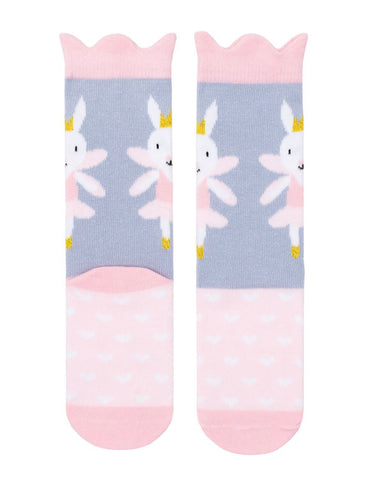 Billy Loves Audrey Midi Socks - Fairy Bunny ON SALE - Prairie Lane Boutique for Kids
