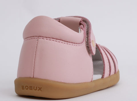 Bobux I Walk Jump Closed Sandal Seashell Pink - Prairie Lane Boutique for Kids