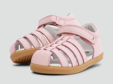 Bobux I Walk Jump Closed Sandal Seashell Pink