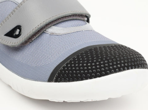 Bobux KID Plus Lo Dimension Shoe - Grey and Black