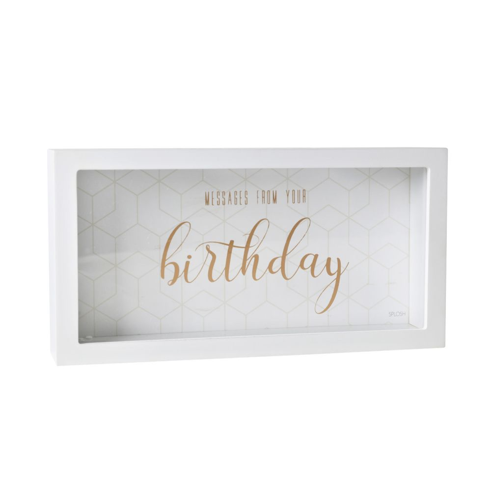 Birthday Message Box