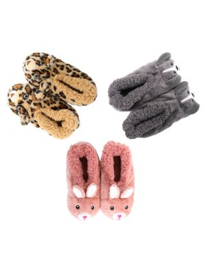 Slumbies Kids Furry Critters Range Leopard, Puppy and Bunny - Prairie Lane Boutique for Kids