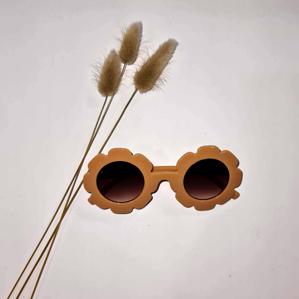 Vintage Daisy Sunglasses  Peach