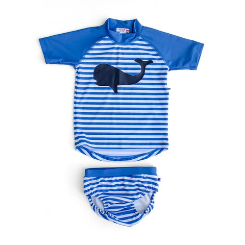 Plum Boys Whale Swim Nappy ON SALE