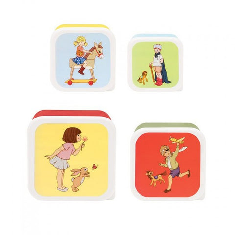 Belle & Boo Set of Four Snack Boxes