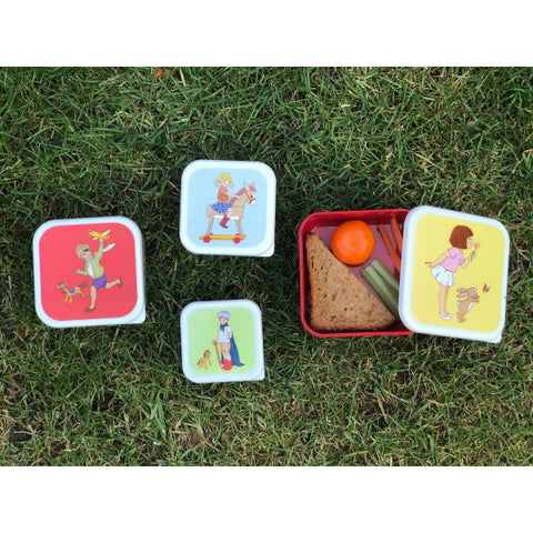 Belle & Boo Set of Four Snack Boxes - Prairie Lane Boutique for Kids