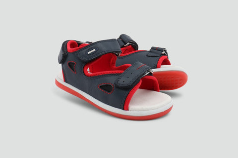 Bobux KID Plus Surf Sandal - Navy ON SALE - Prairie Lane Boutique for Kids
